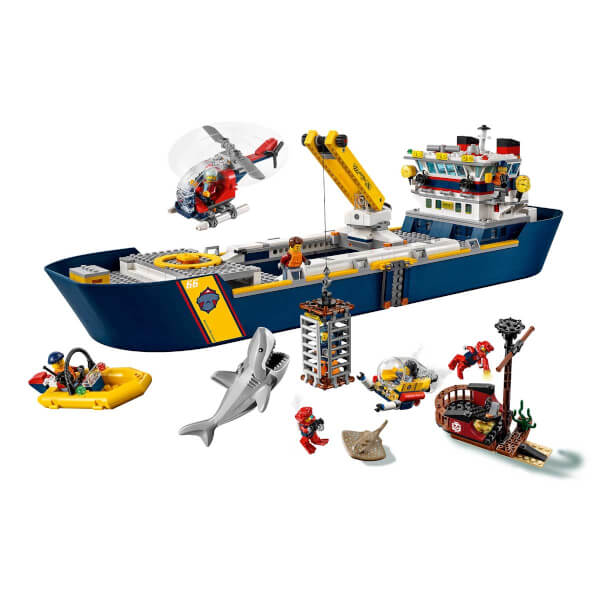 LEGO City Oceans Okyanus Keşif Gemisi 60266