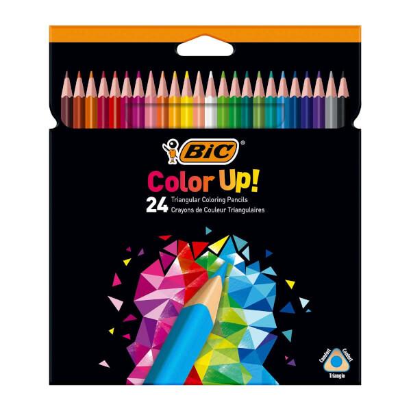 Bic Color Up 24'lü Kuru Boya Kalemi