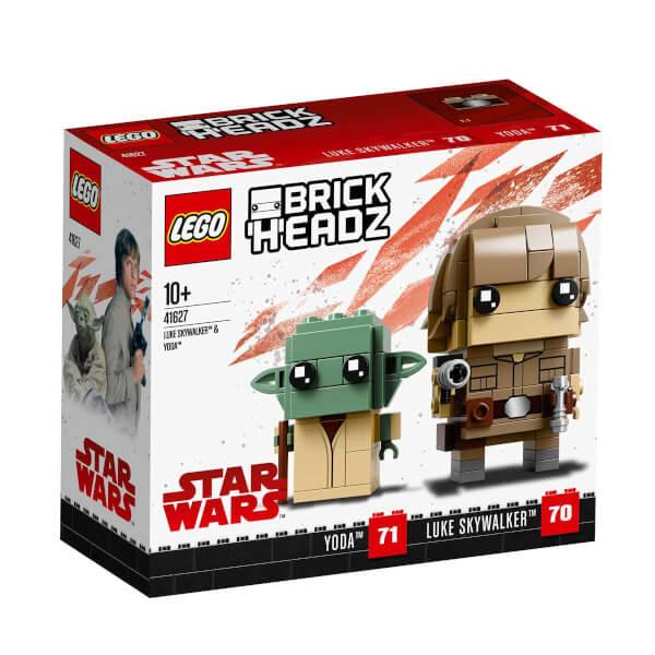 LEGO BrickHeadz Luke Skywalker ve Yoda 41627
