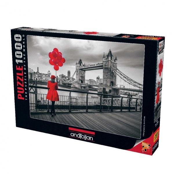 1000 Parça Puzzle : Tower Bridge