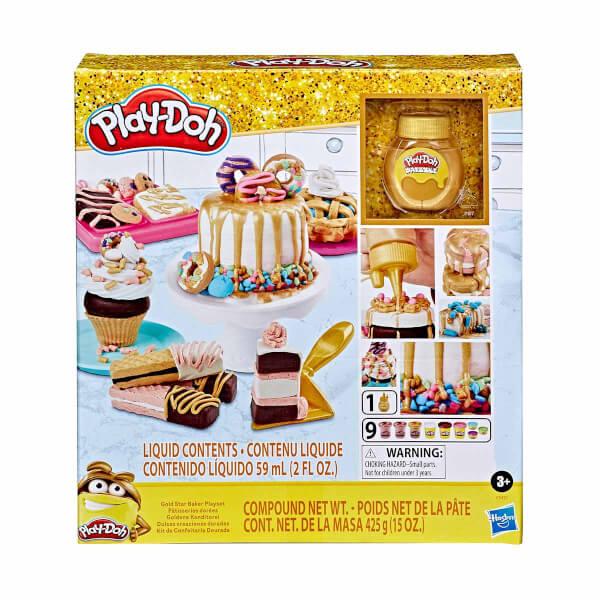 Play Doh Gold Pastacı Oyun Hamur Seti E9437