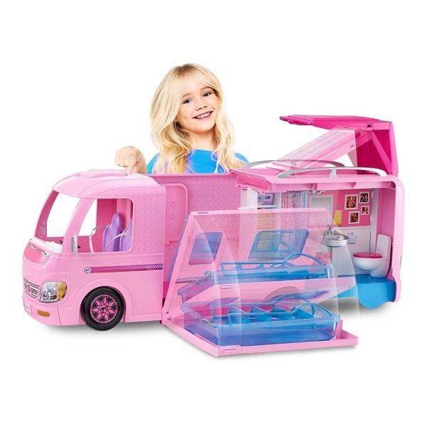 Barbie Pembe Karavan