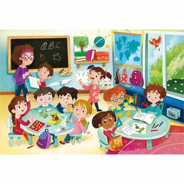 104 Parça Puzzle: Maxi Benim Sınıfım