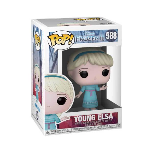 Funko Pop Frozen 2 : Young Elsa Figür