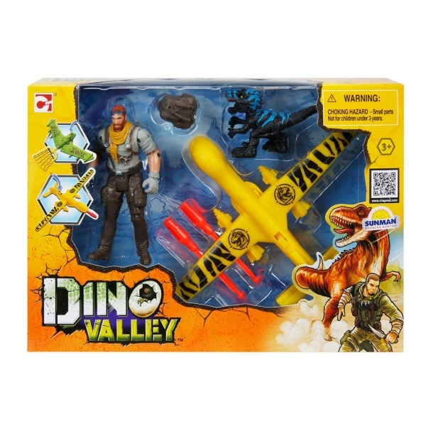 Dino Valley Aır Patrol Oyun Seti