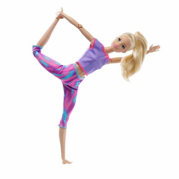 Barbie Sonsuz Hareket Bebeği GXF04