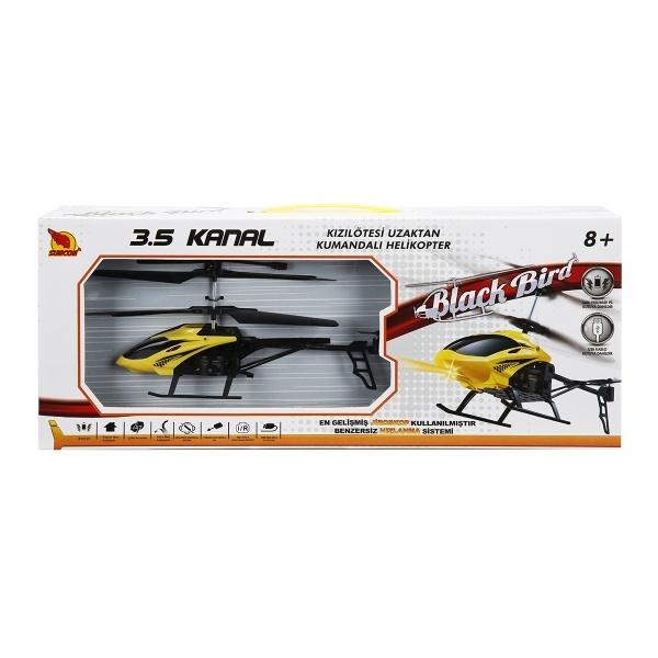 Uzaktan Kumandalı Black Bird Helikopter 3.5 Kanal