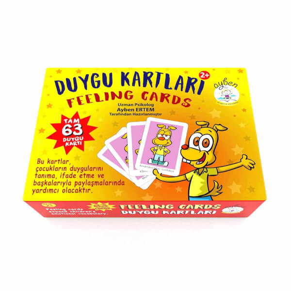 Türkçe İngilizce Duygu Kartları