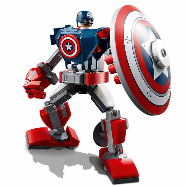 LEGO Marvel Avengers Movie 4 Kaptan Amerika Robot Zırhı 76168