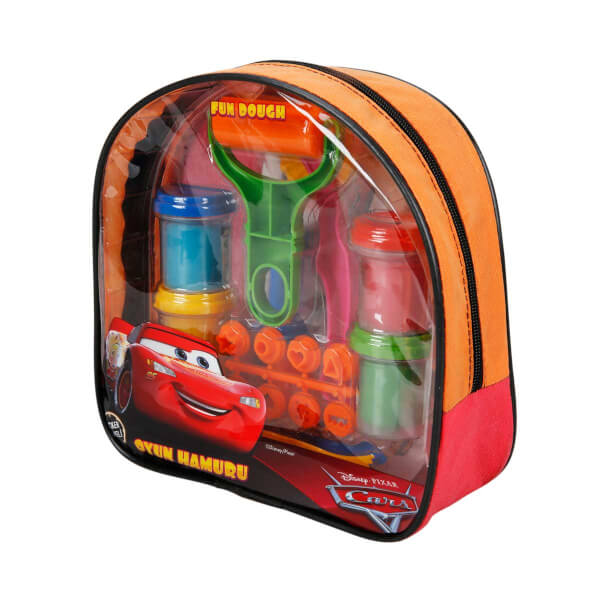 Fun Dough Cars Sırt Çantalı Oyun Hamuru Seti