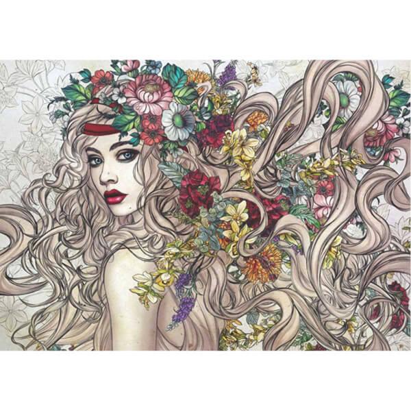 1500 Parça Puzzle : Çiçeklerin Gücü