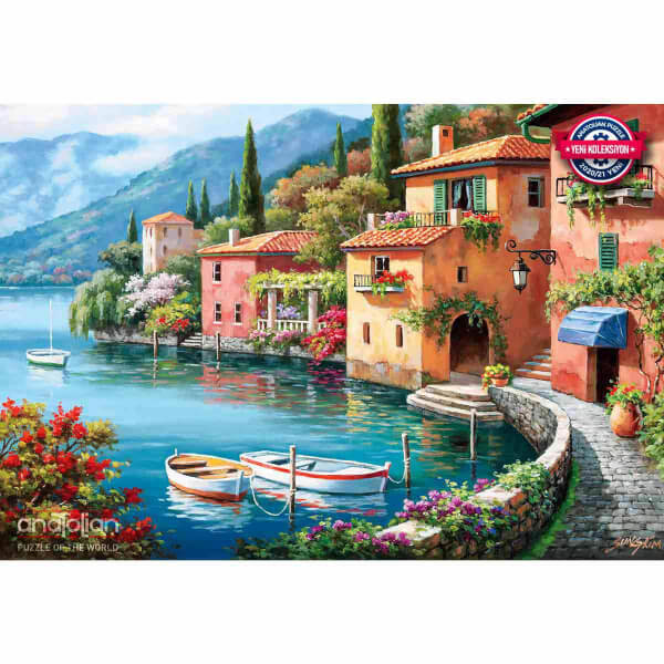 2000 Parça Puzzle : Villagio Dal Lago