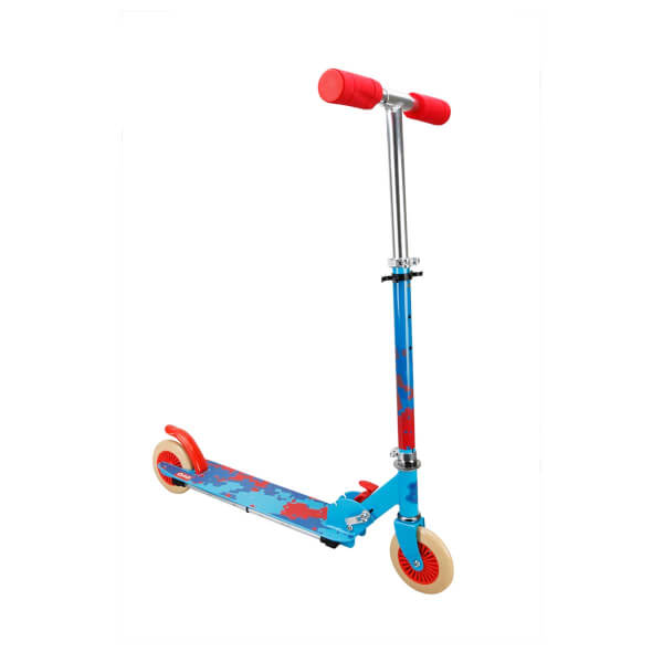 Evo Işıklı 2 Tekerlekli Mavi Scooter