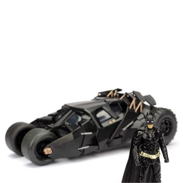 1:24 Batman The Dark Knight Metal Batmobile ve Batman Figür