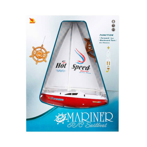 Uzaktan Kumandalı Yelkenli Tekne 38 cm.