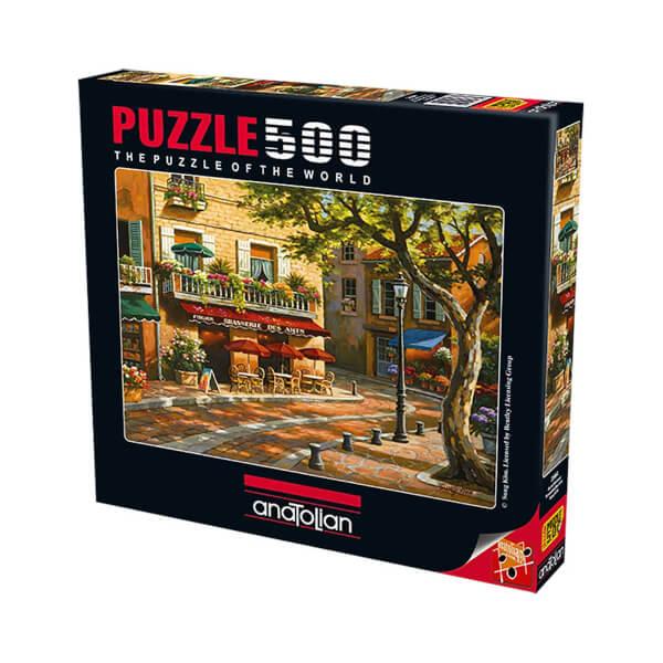 500 Parça Puzzle : Sanat Kahvesi