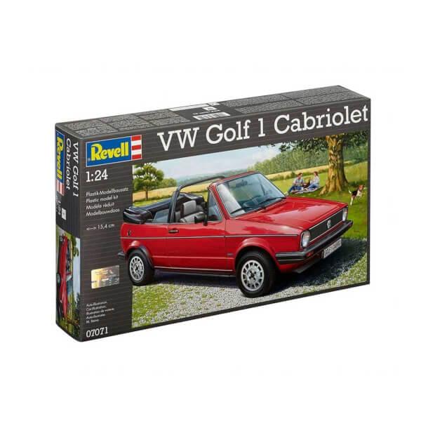Revell 1:24 Volkswagen Golf 1 Cabrio Araba 7071