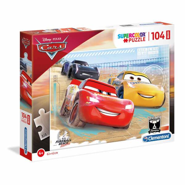 104 Parça Puzzle: Maxi Cars Fireball Beach Yarışçıları