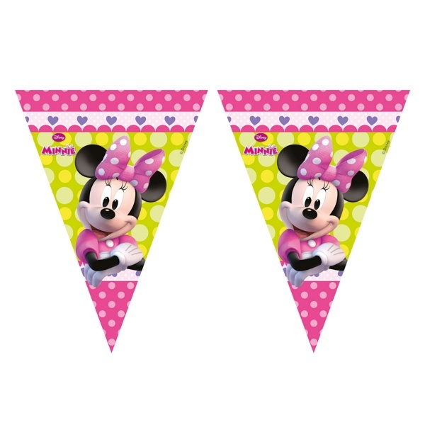 Minnie 11'li Üçgen Bayrak