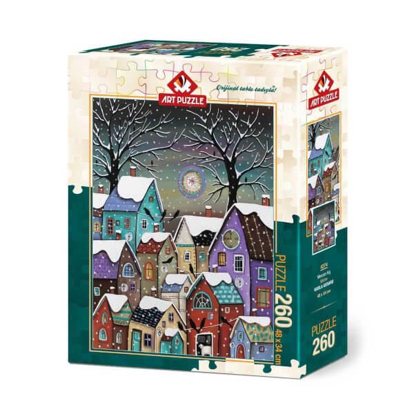 260 Parça Puzzle : Mevsim Kış