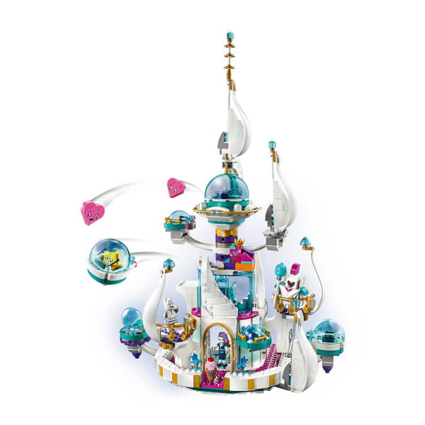 LEGO Movie 2 Kraliçe Watevra'nın 'Hiç De Kötü Olmayan' Uzay Sarayı 70838