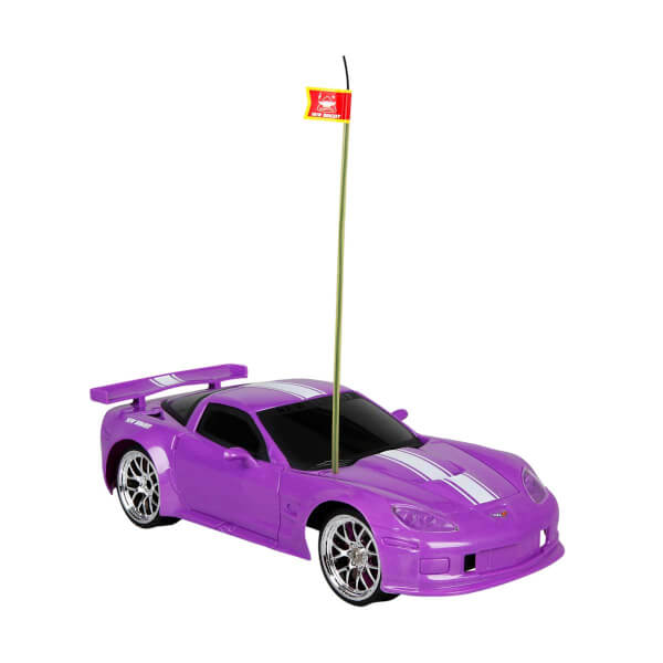 1:16 Uzaktan Kumandalı Sport Corvette C6R Araba