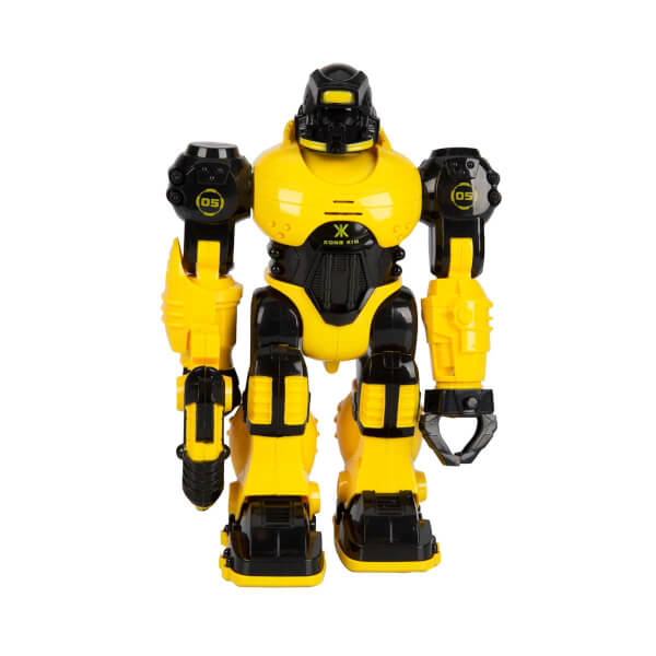 Thunderbolt Sesli ve Işıklı Robot 25 cm.