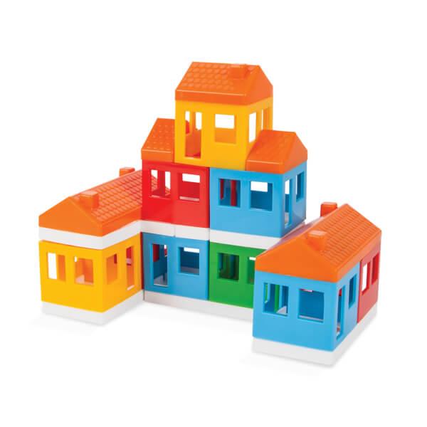 Pilsan Mini City Ev Bloklar 40 Parça