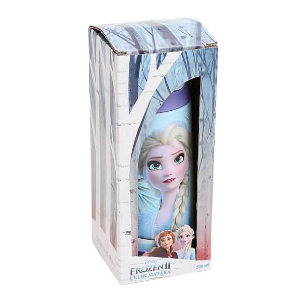 Frozen 2 Elsa Çelik Matara 500 ml. 44044