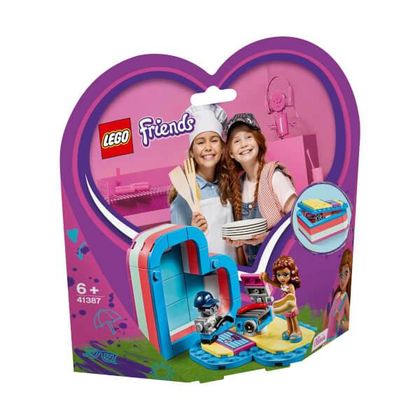 LEGO Friends Olivia'nın Yaz Kalp Kutusu 41387