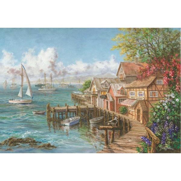 260 Parça Puzzle : Balıkçı Sığınağı