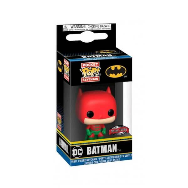 Funko Pop DC : Batman Holiday Anahtarlık