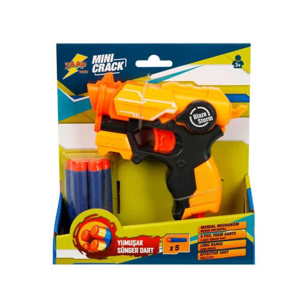 Zapp Mini Sünger Dart Atan Silah Sarı