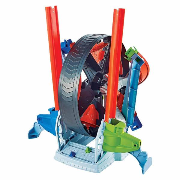 Hot Wheels Dönen Tekerlek Macerası Yarış Seti GJM77