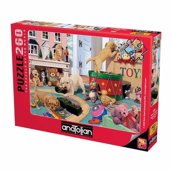 260 Parça Puzzle : Eğlenceli Oyunlar