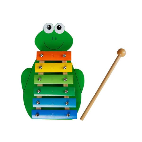 Woody Kurbağa Şekilli Ahşap Ksilofon