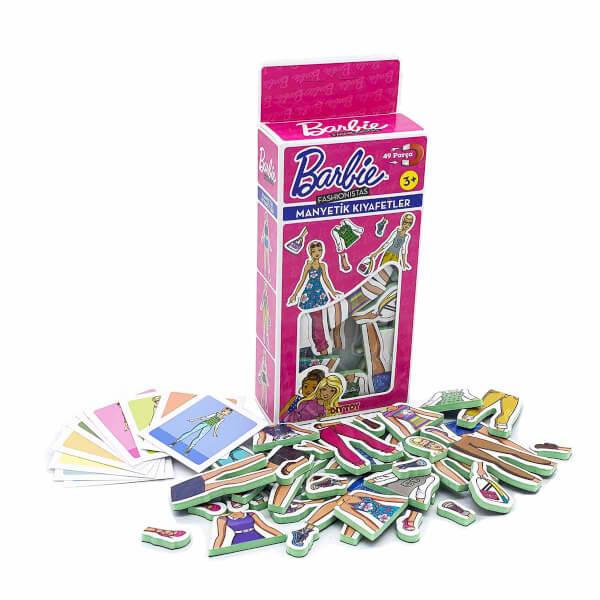 Barbie Magnet Kıyafet Giydirme Oyunu