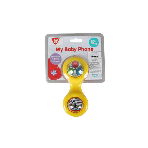 Çıngıraklı Renkli Telefon Ahizesi