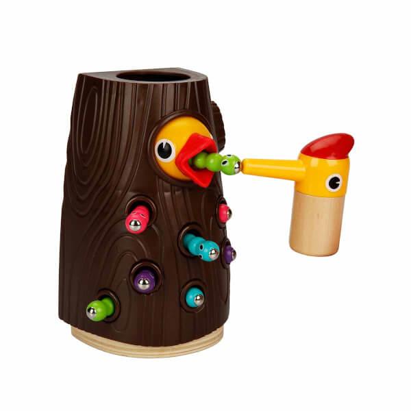 Woody Manyetik Ağaçkakan Besleme Oyunu 10 Parça