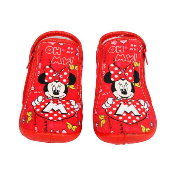Minnie Mouse Fermuarlı Panduf 21-25