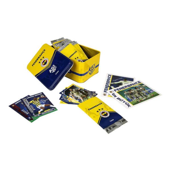 Fenerbahçe 2020-2021 Sezon Kick Off Box İmzalı Oyunlu Futbolcu Kartları