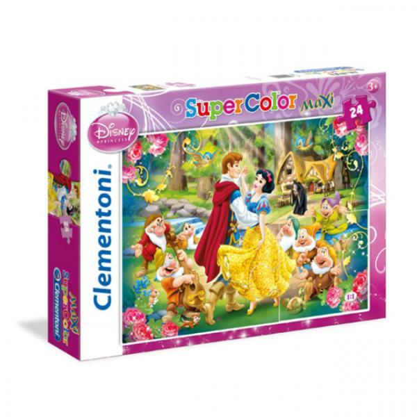 24 Parça Maxi Puzzle : Disney Princess Biancaneve Snow White