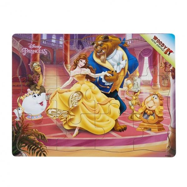 Disney Princess Ahşap Puzzle 12 Parça