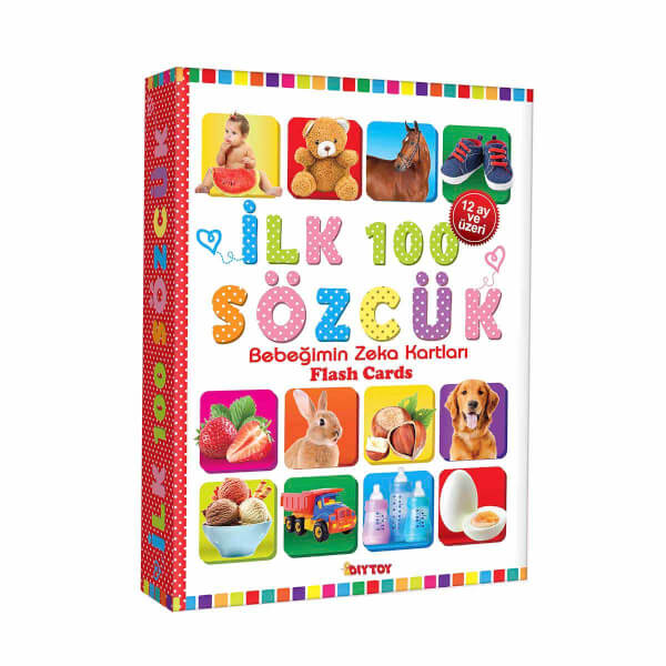 Bebeğimin Zeka Kartları: İlk 100 Sözcük