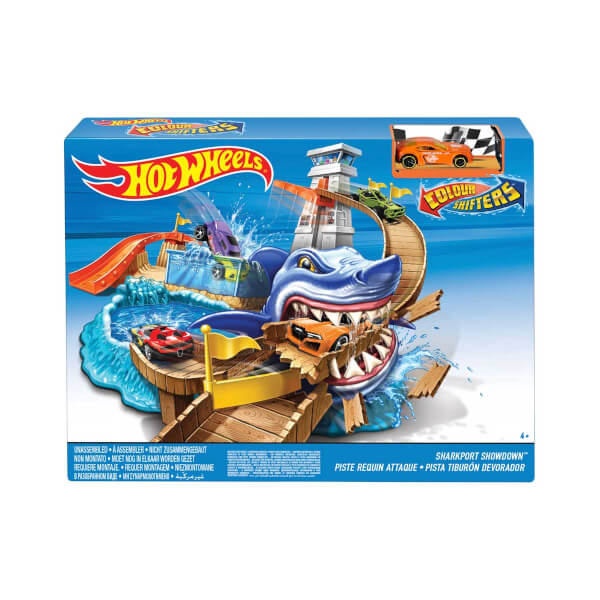 Hot  Wheels Sharky Yarış Seti BGK04