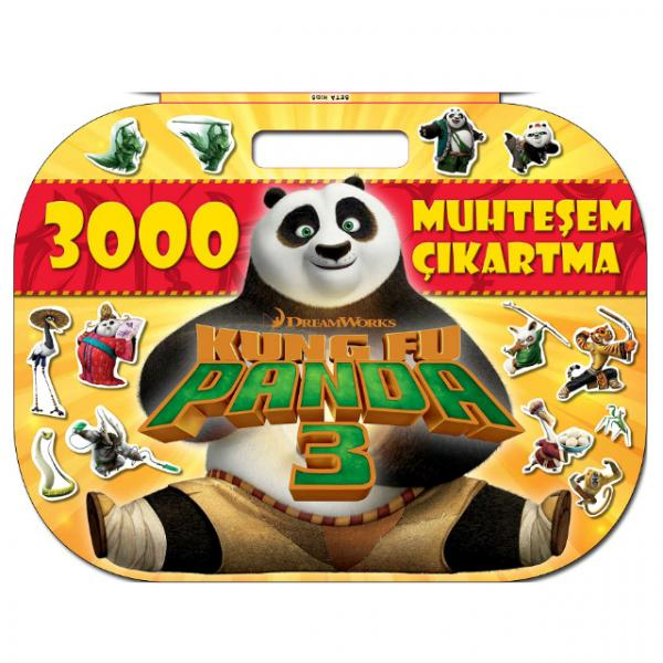 Kung Fu Panda 3: 3000 Muhteşem Çıkartma
