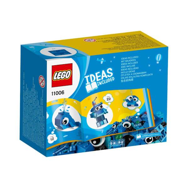 LEGO Classic Yaratıcı Mavi Yapım Parçaları 11006