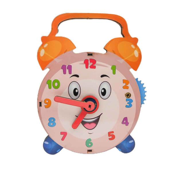 Saat Kaç? Ahşap Oyuncak 11 Parça