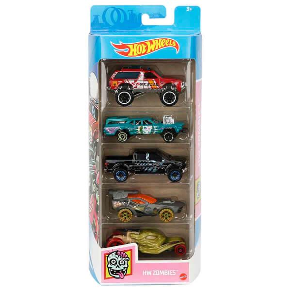 Hot  Wheels 5'li Araba Seti