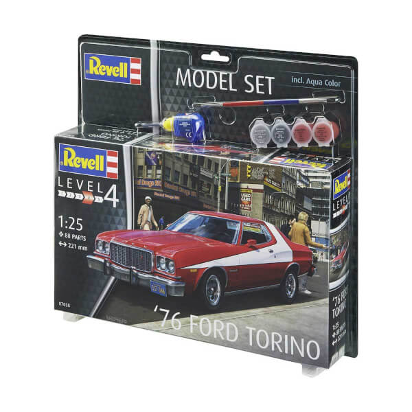 Revell 1:25 76 Ford Torino Model Set Araba 7038